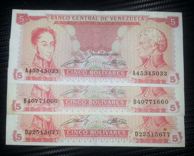 Imagen producto Australes, pesos , bolívares  10