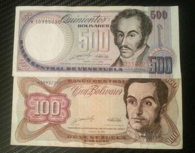 Imagen producto Pesos y bolívares billetes del mundo  5