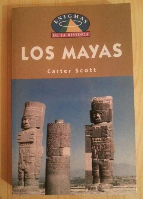 Imagen Antiguo libro Mayas