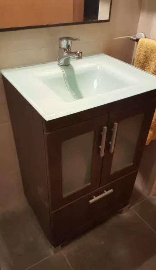 Imagen producto Pica y mueble + grifo + espejo + muebe pared 2