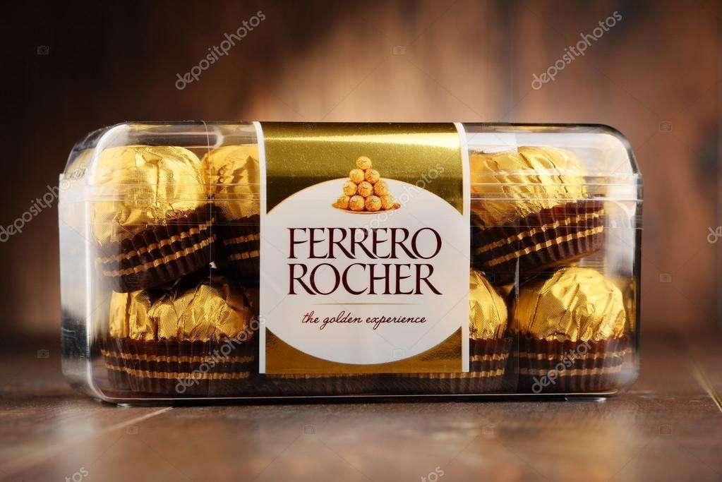 Imagen Ferrero rocher