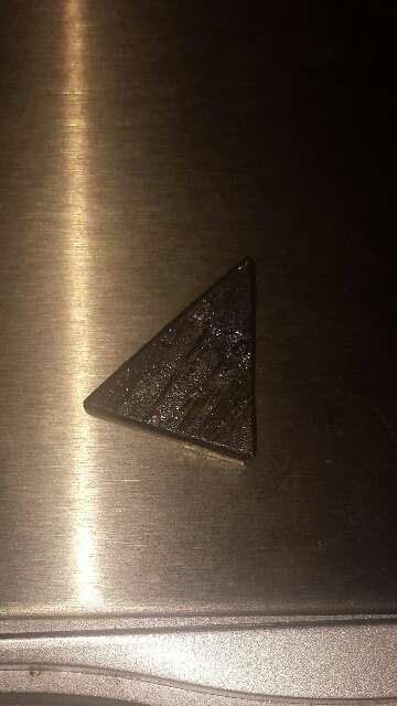 Imagen producto Pieza meteorito 1.7 g triángulo  2