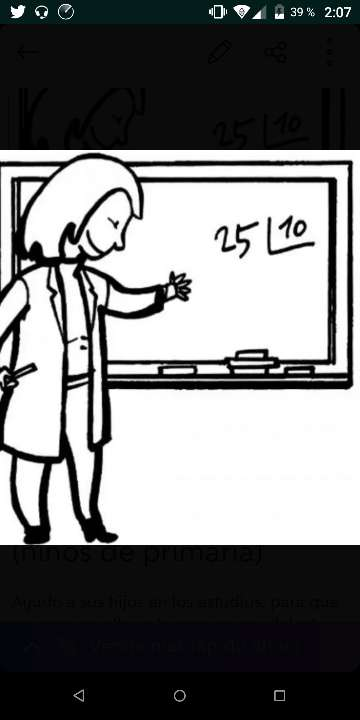 Imagen Clases particulares para niños de primaria