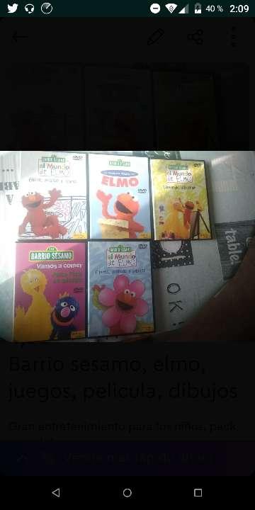 Imagen Barrio sesamo, elmo, juegos, pelicula, dibujos