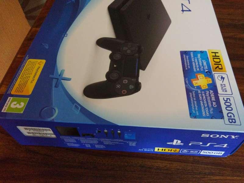 Imagen PS4 500GB con mando(Todo nuevo)