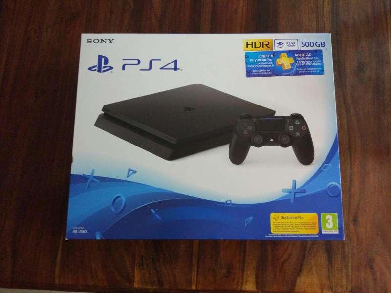 Imagen producto PS4 500GB con mando(Todo nuevo) 2