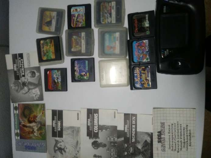 Imagen producto Lote gamegear 1