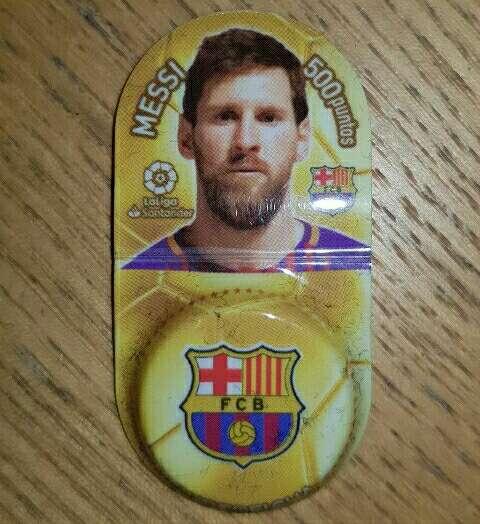 Imagen producto Super ficha Messi grufesa. 2
