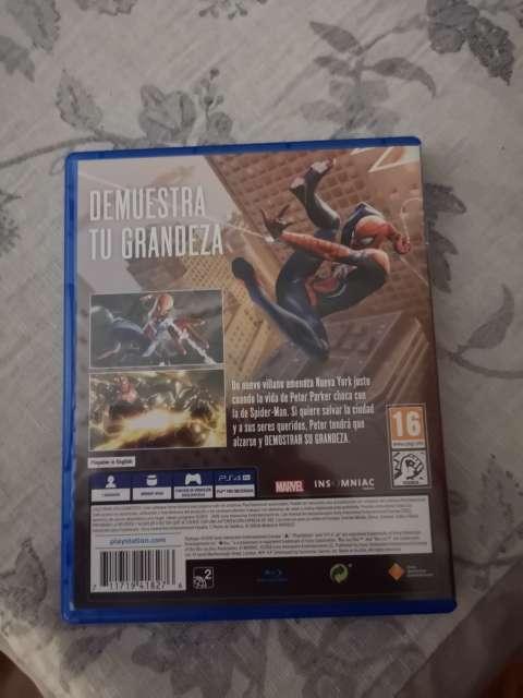 Imagen Spiderman ps4 ps4