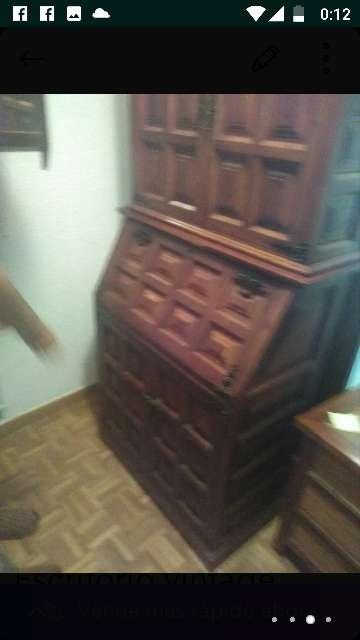 Imagen producto Gabinete-escritorio antiguo 2
