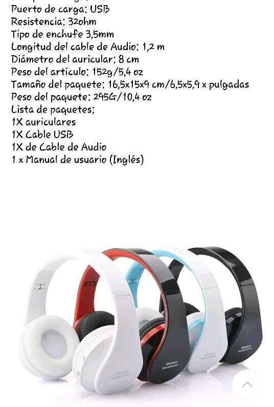 Imagen producto Auriculares inalámbricos nuevo  5