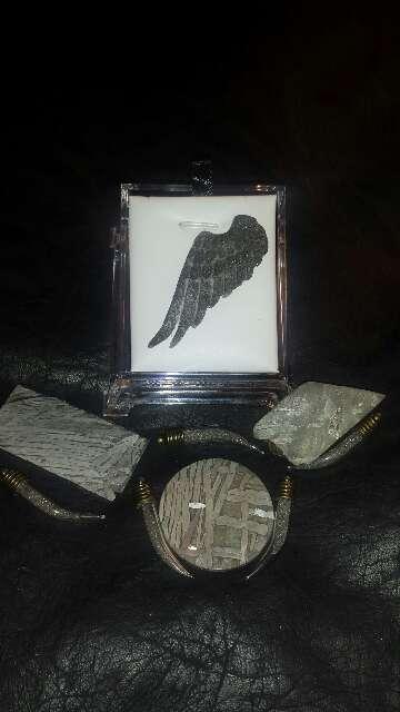 Imagen Ala de ángel con polvo de meteorito
