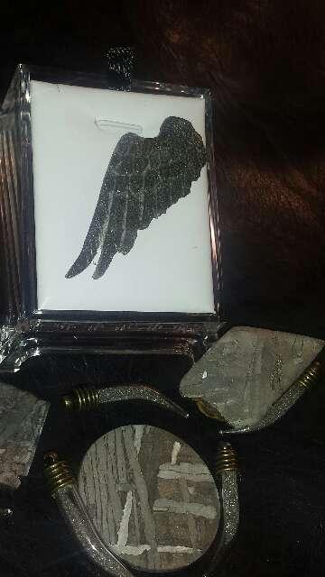 Imagen producto Ala de ángel con polvo de meteorito  3