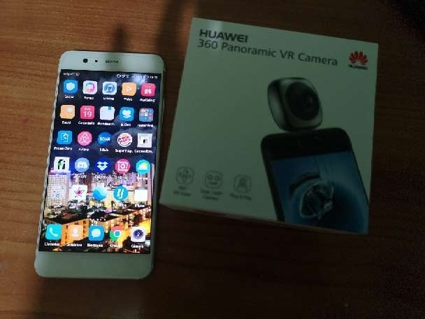 Imagen Huawei p10 plus y cámara 360°