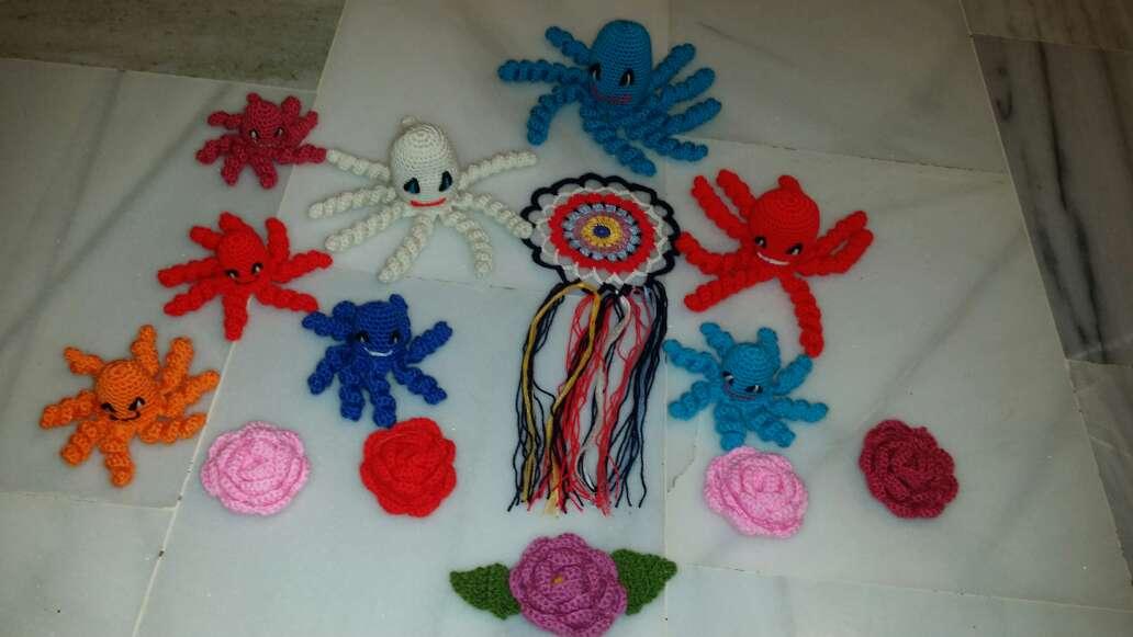 Imagen Crochet a mano varios