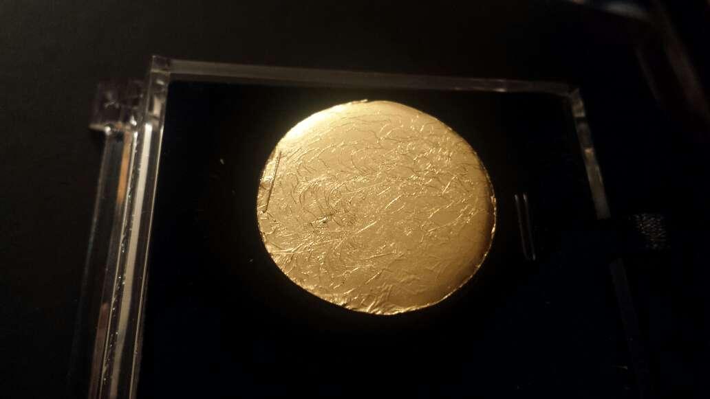 Imagen producto Diosa Isis en meteorito  6
