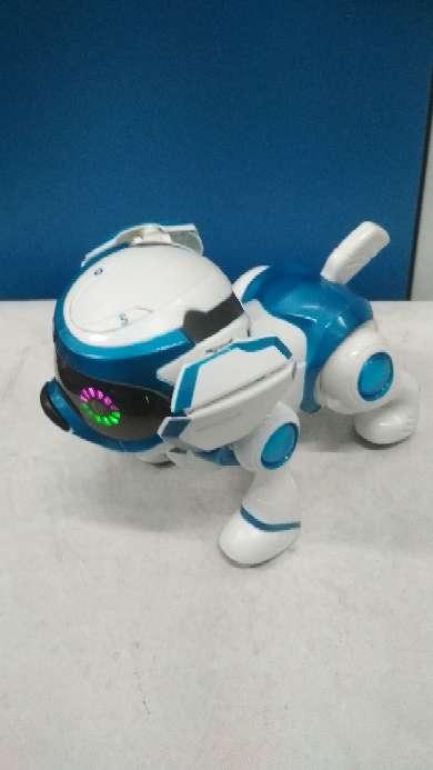Imagen perro teksta robot
