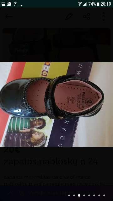 Imagen producto Zapatos niña pablosky 5