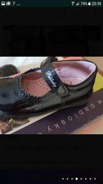 Imagen producto Zapatos niña pablosky 6