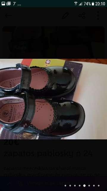 Imagen producto Zapatos niña pablosky 7