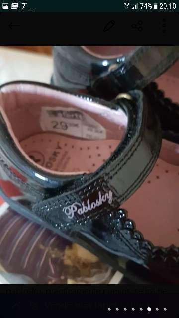 Imagen producto Zapatos niña pablosky 4
