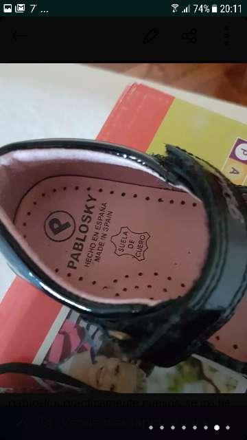 Imagen zapatos niña pablosky
