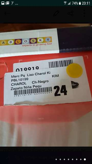 Imagen producto Zapatos niña pablosky 3