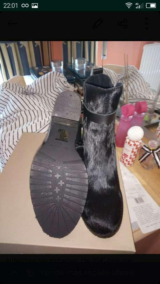 Imagen botas de piel