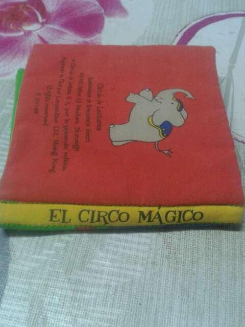 Imagen producto Libro de tela Circo Mágico 2