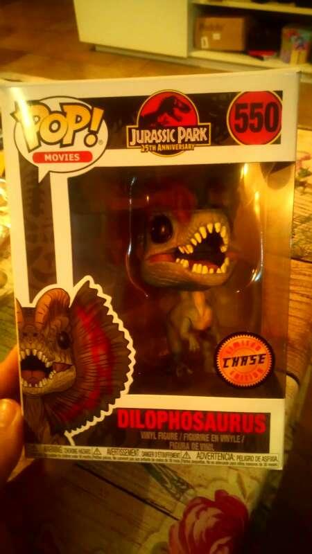Imagen producto Jurassic Park pop movie  3