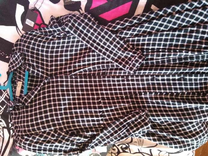 Imagen vestido cuadros Zara