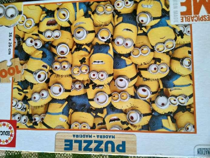 Imagen puzzle minion