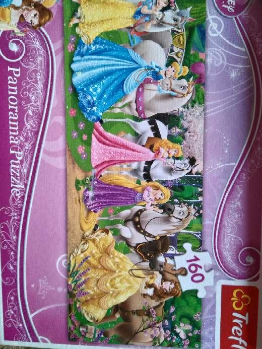 Imagen puzzle princesa Disney