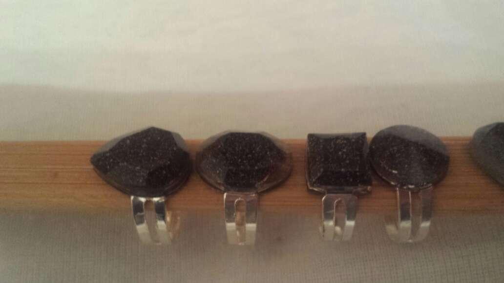 Imagen producto Facetados meteorito en polvo joyería  4