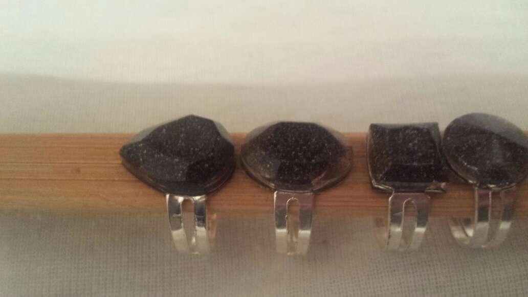 Imagen producto Facetados meteorito en polvo joyería  5