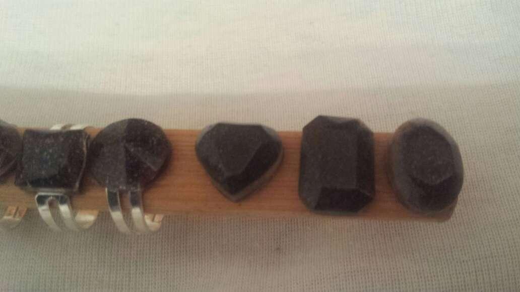 Imagen producto Facetados meteorito en polvo joyería  6