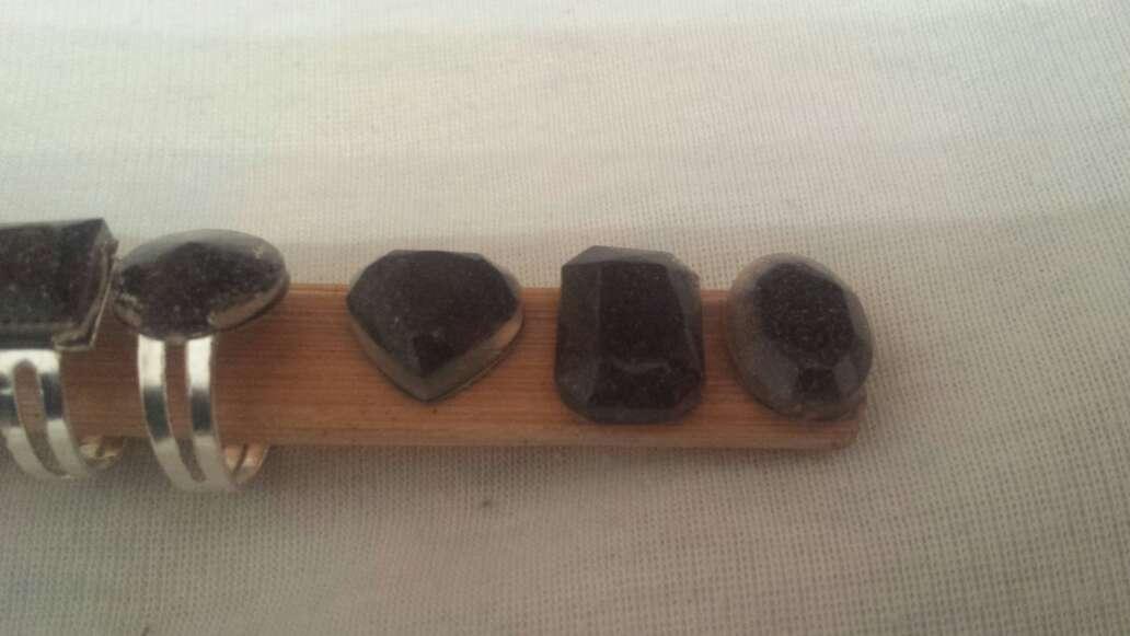 Imagen producto Facetados meteorito en polvo joyería  7
