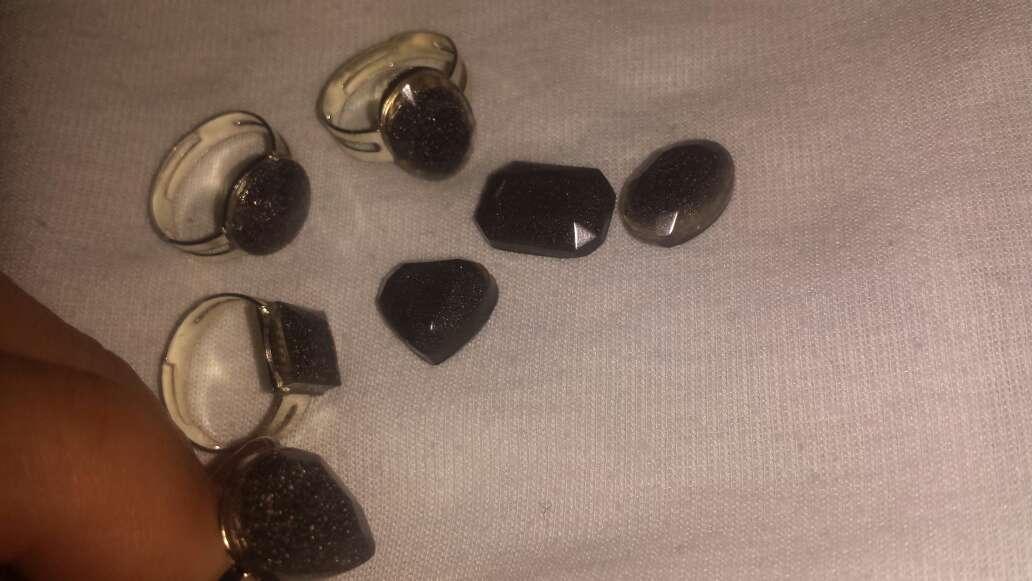 Imagen producto Facetados meteorito en polvo joyería  9