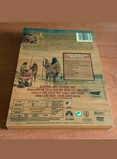 Imagen producto Hondo John Wayne. DVD  2