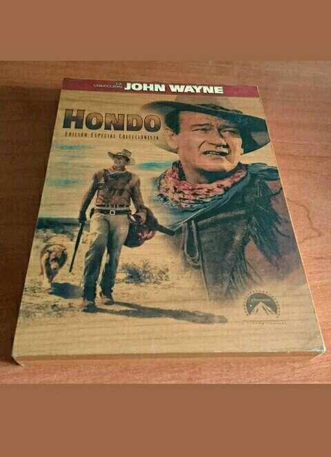 Imagen Hondo John Wayne. DVD