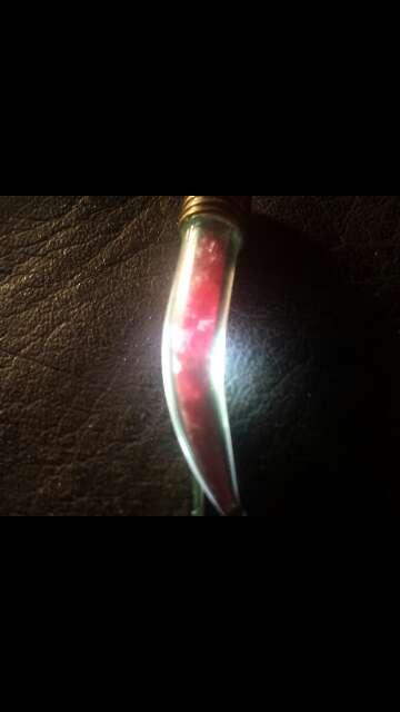 Imagen producto Colgante con rubí 100 % natural  7