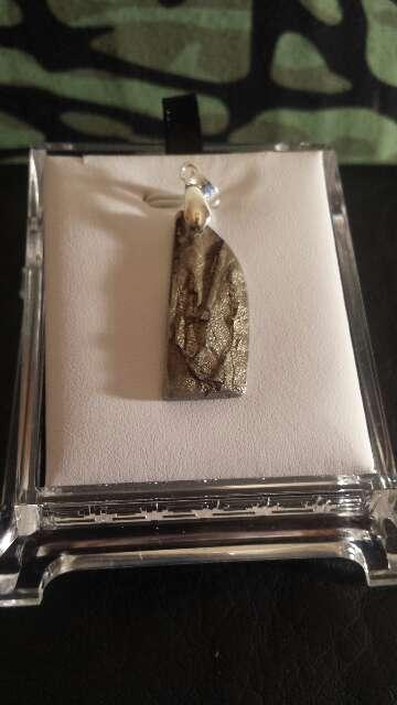 Imagen meteorito forma irregular