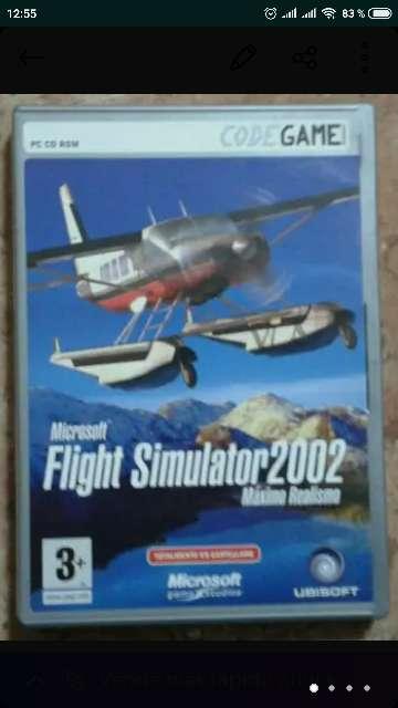 Imagen Juego Flight Simulator 2002 + Regalo