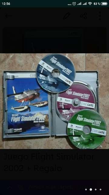 Imagen producto Juego Flight Simulator 2002 + Regalo 2
