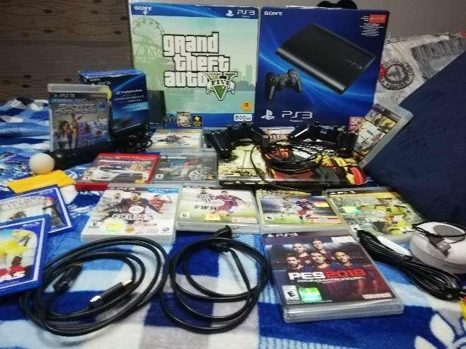 Imagen producto Play Station 3 (500gb), Edición Limitada Grand Theft Auto.  2