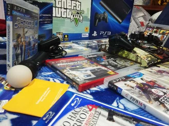 Imagen producto Play Station 3 (500gb), Edición Limitada Grand Theft Auto.  4