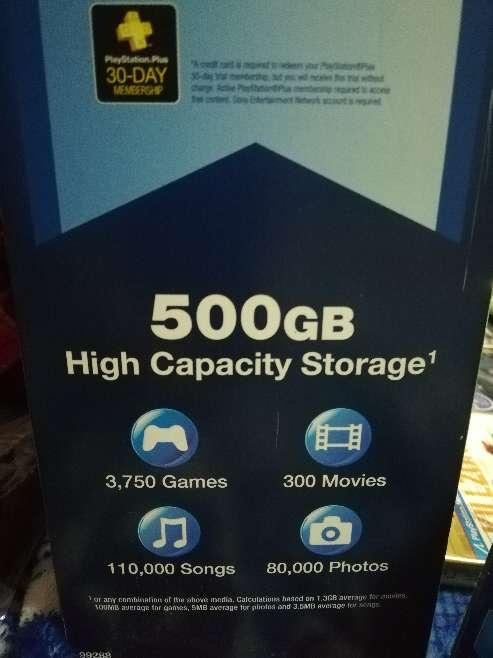 Imagen producto Play Station 3 (500gb), Edición Limitada Grand Theft Auto.  6