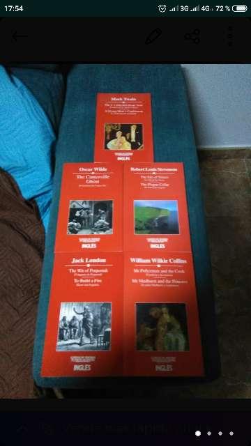 Imagen libros en inglés y español