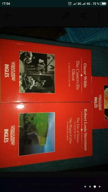 Imagen producto Libros en inglés y español 2