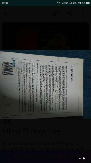 Imagen producto Libro El pequines 2